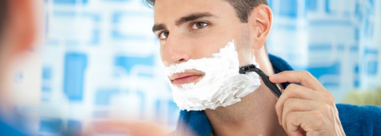 Men: shaving and irritated skin - the solutions