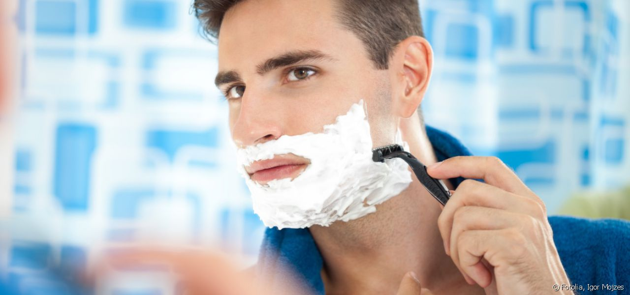 Keep your skin healthy when shaving.
