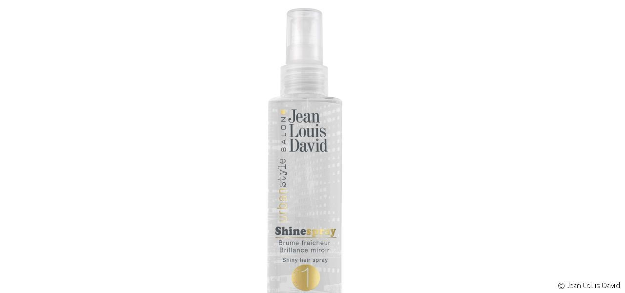 Shine Spray for shiny hair that smells great.