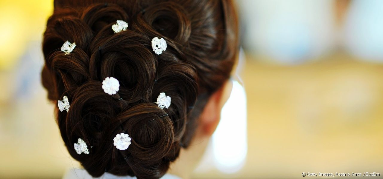 How can you incorporate rhinestones into your hairstyles?