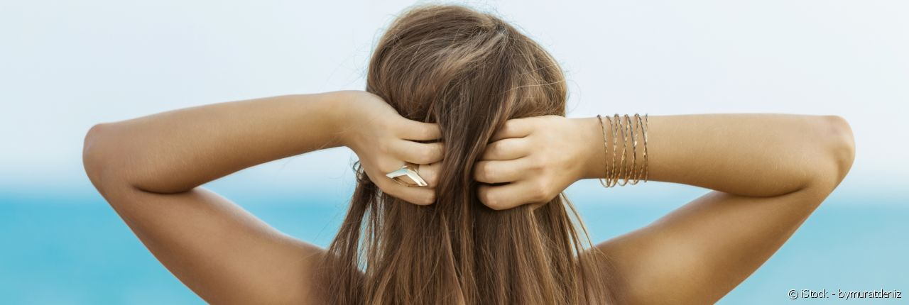 A closer look at the negative effects of salt on your hair