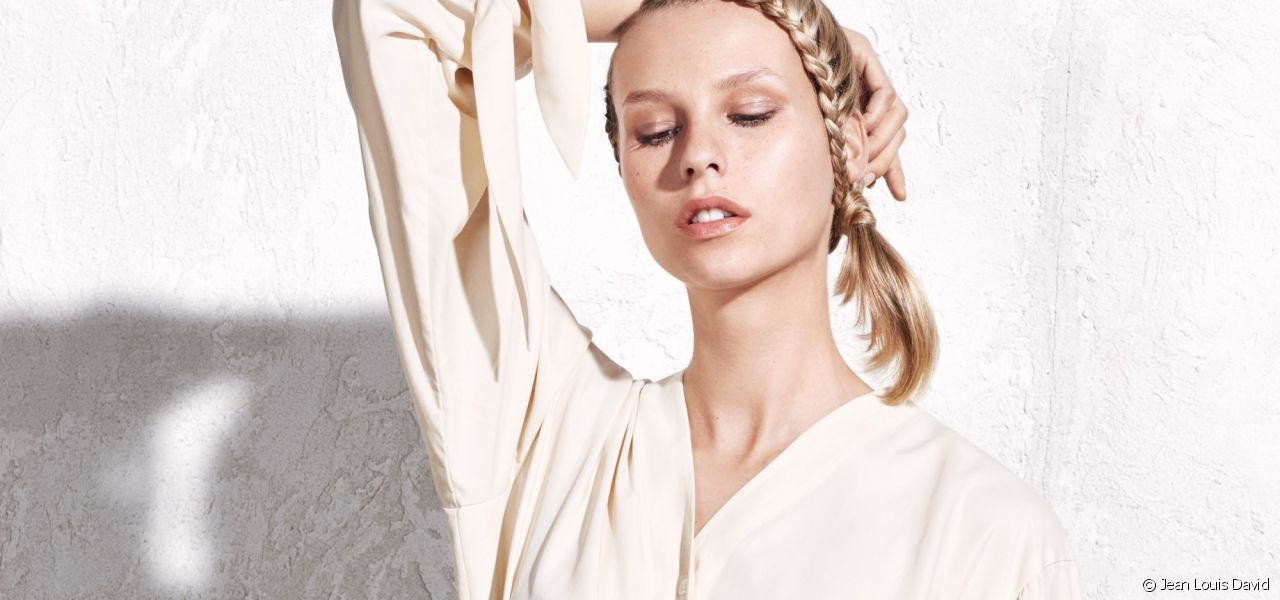 Ask for the braided side ponytail when you next visit the Style Bar.