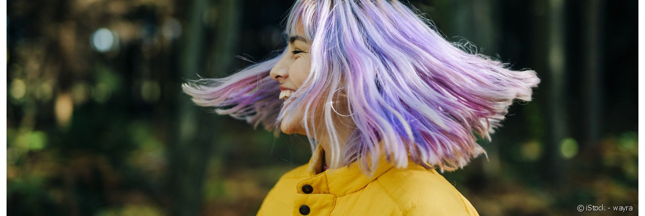 Lilac hair: This year's must-have colour