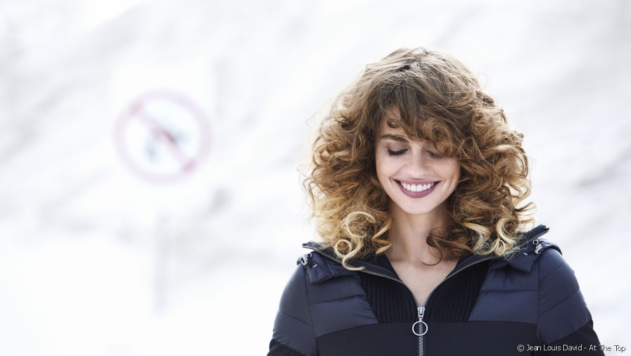This season, Jean Louis David has given cascading curls a modern twist, a look which was all the rage in the 80s.