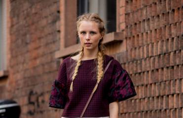 Streestyle: French braids are back in 2015