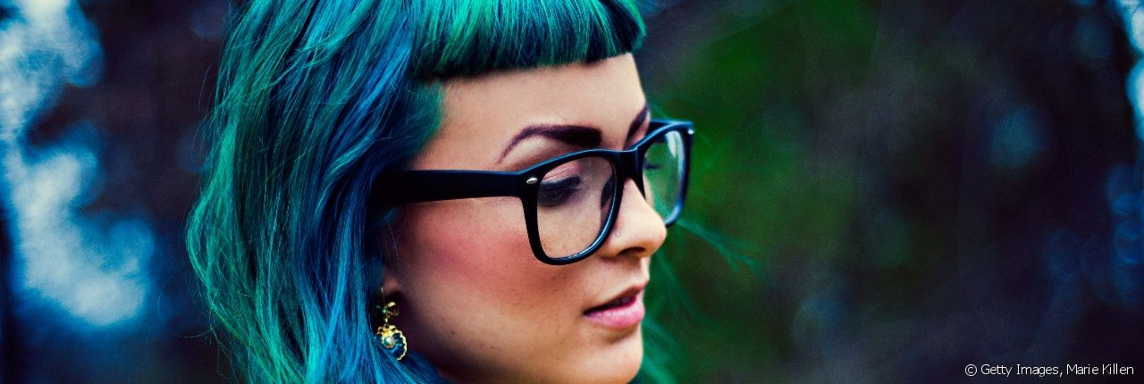 Are you tempted to try out green or blue hair?