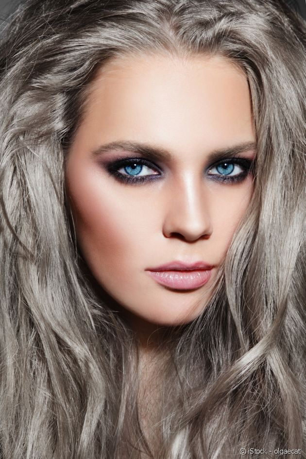 Find out if charcoal grey hair colouring is for you