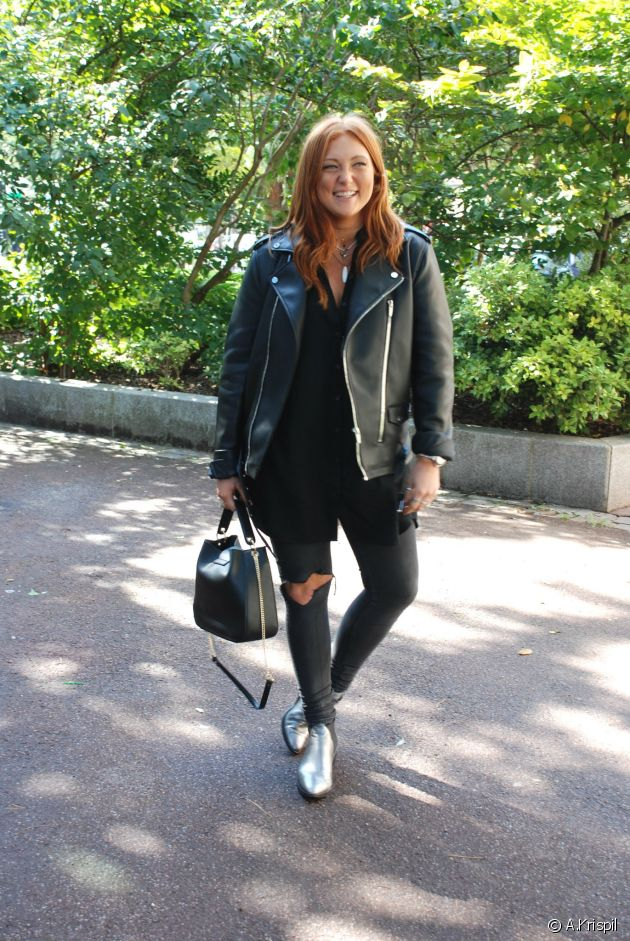 Ellie is our rock chick streetstyle fashionista of the month