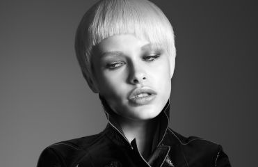 The asymmetric fringe  to put a punk twist on short haircuts