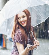 My hair got caught in a downpour: 3 tips on how to save my look