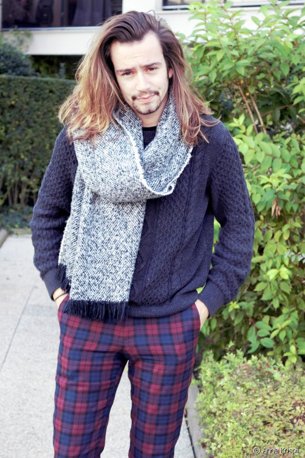 Mix and match rocker, dandy and vintage pieces and what do you get? Guillaume's look!