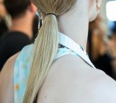 Hairstyle trend: the ultra-sleek poker-straight ponytail