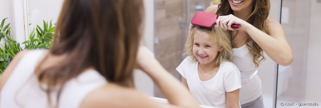 Teaching your child how to detangle their hair has never been so simple