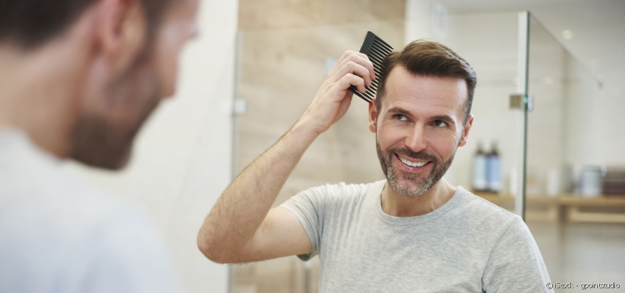 Gentlemen, there are other styling products in life besides gel.