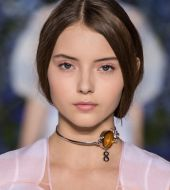 Seen on the catwalk: the faux bob by Dior