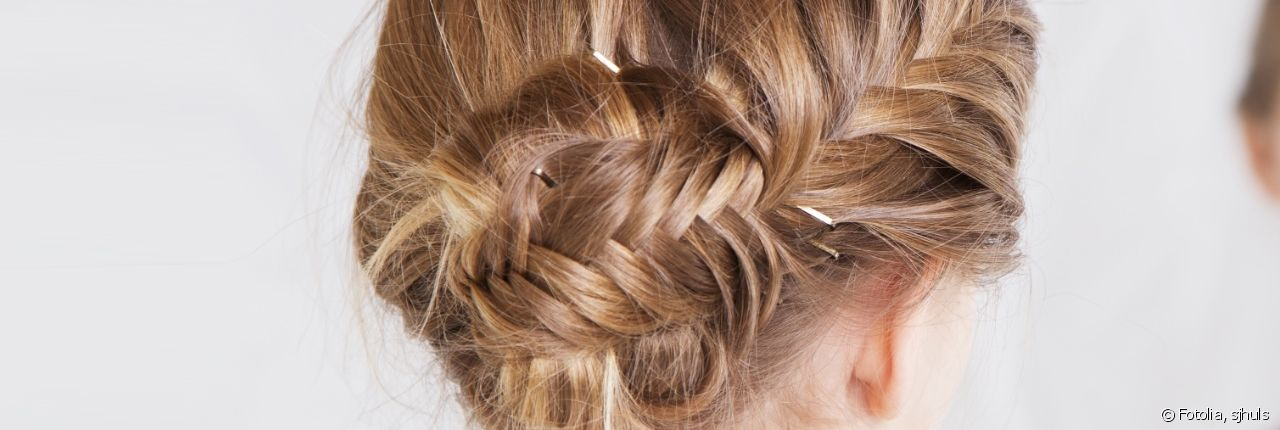 Find out how to create a fishtail braid chignon for a bohemian look.