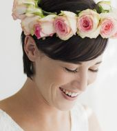 Weddings: what hairstyle ideas are there for brides with short  hair?