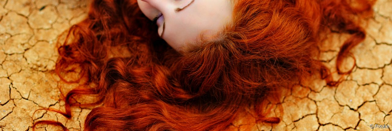 Medication that can change hair colour or texture