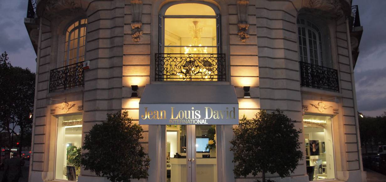 Jean Louis David International invites the press in!
