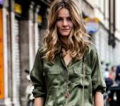Streetstyle: Wavy hair for a boho chic style