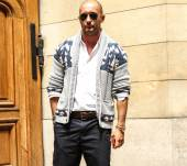 Streetstyle: a shaved head for a bad-boy style