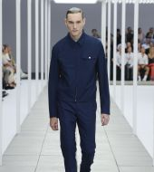 Trend for men: the slick wet-look