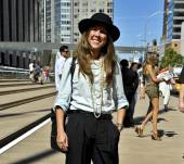 Streetstyle: layers in your hair for lovely locks