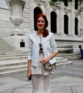 Streetstyle: looking after flamboyant red hair