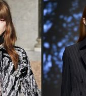 Hairstyle head-to-head: curtain fringe VS short fringe