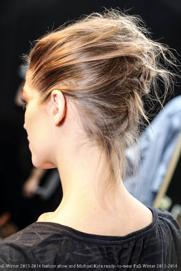 Hairstyle face-off: the twisted ponytail vs. the twisted chignon