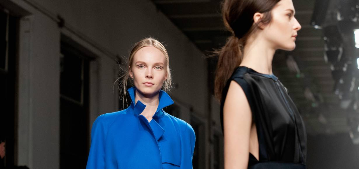 Get the low-down on this season's low-slung ponytail