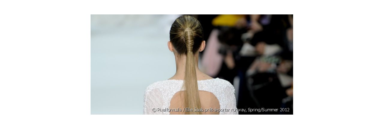 How can I liven up my classic ponytail?