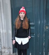 Streetstyle: How to wear your ski hat about town