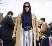 Streetstyle: super long, super straight hair