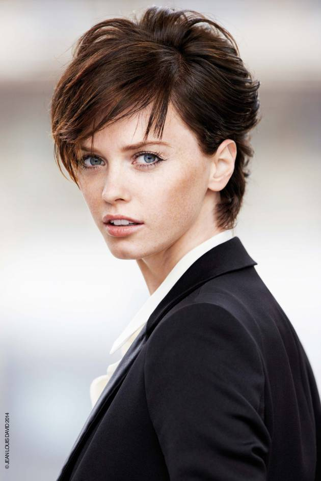 How to vary your boyish crop hairstyle