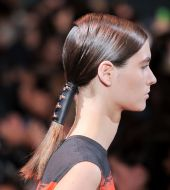 Battle of the hairstyles: the cuffed vs the classic ponytail
