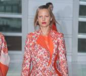 Fashion Week find: the faux-bob and half-ponytail combo