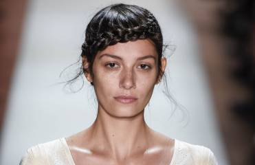 How to create the Heidi braid from the Max Azria fashion show?