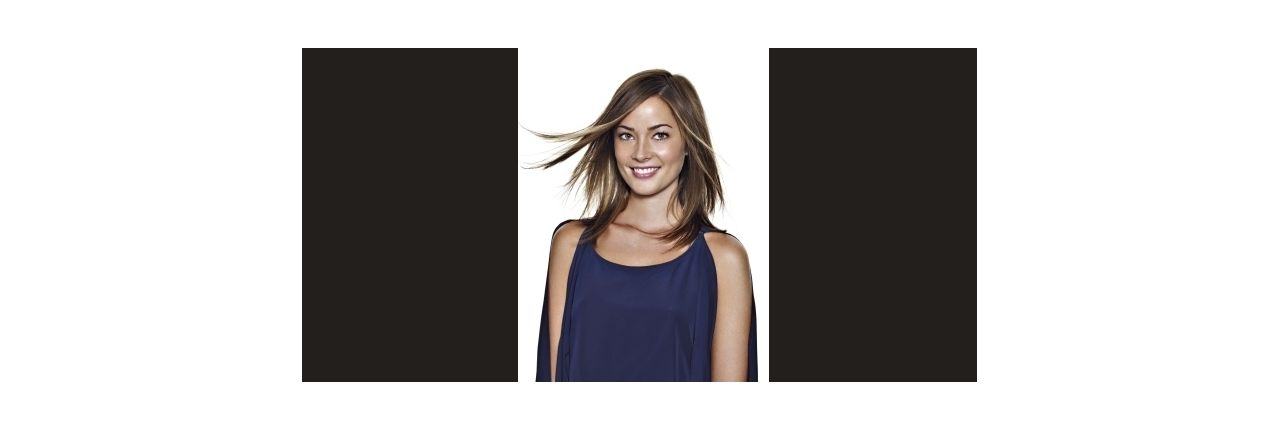 The multifaceted, thinned, shoulder length cut