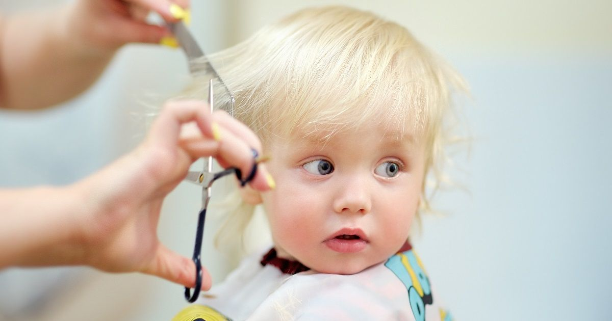 Trimming Your Babys Hair For The First Time