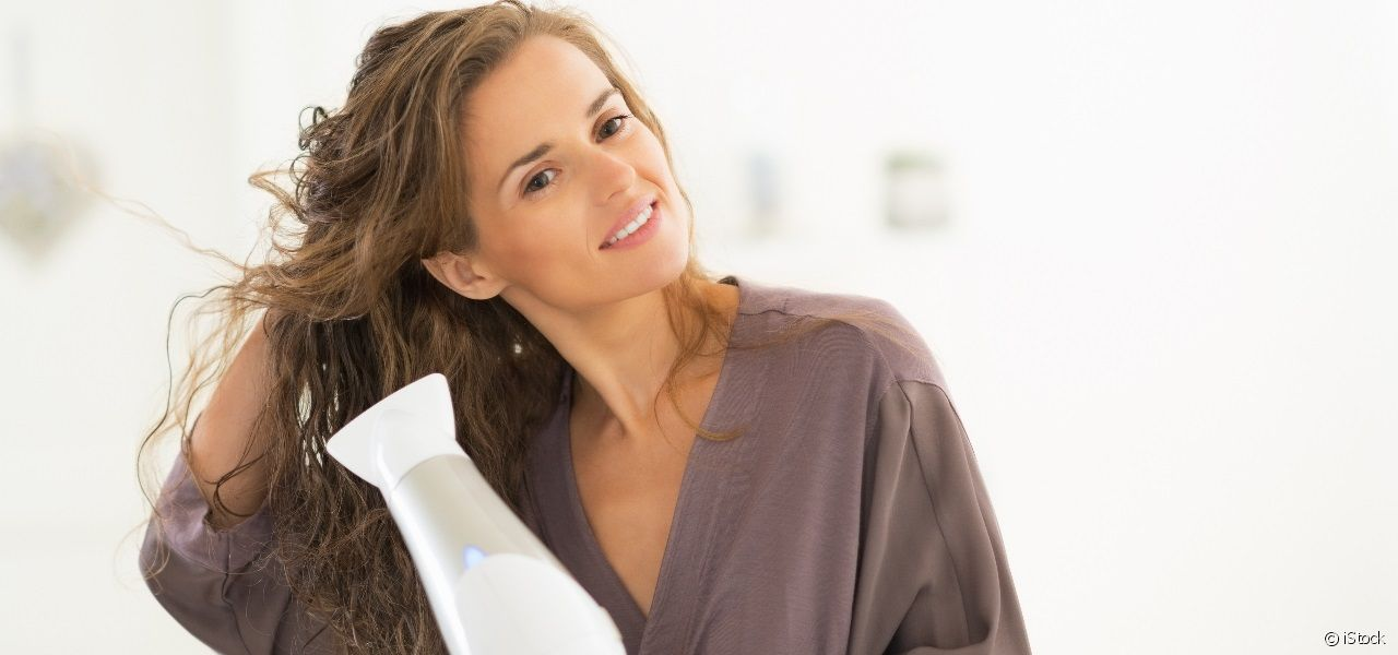 Everything you need to know about gently blow-drying your hair