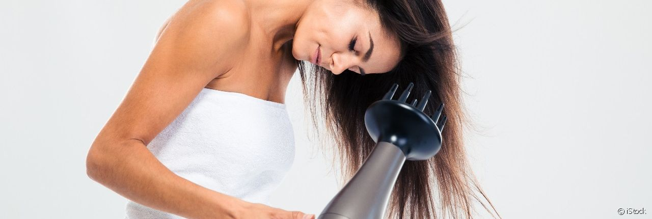 Use your hairdryer's diffuser attachment like a pro
