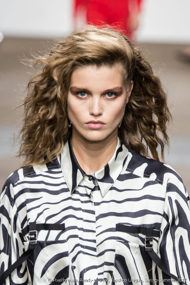 The perm is making a big comeback on the Spring-Summer 2017 catwalks