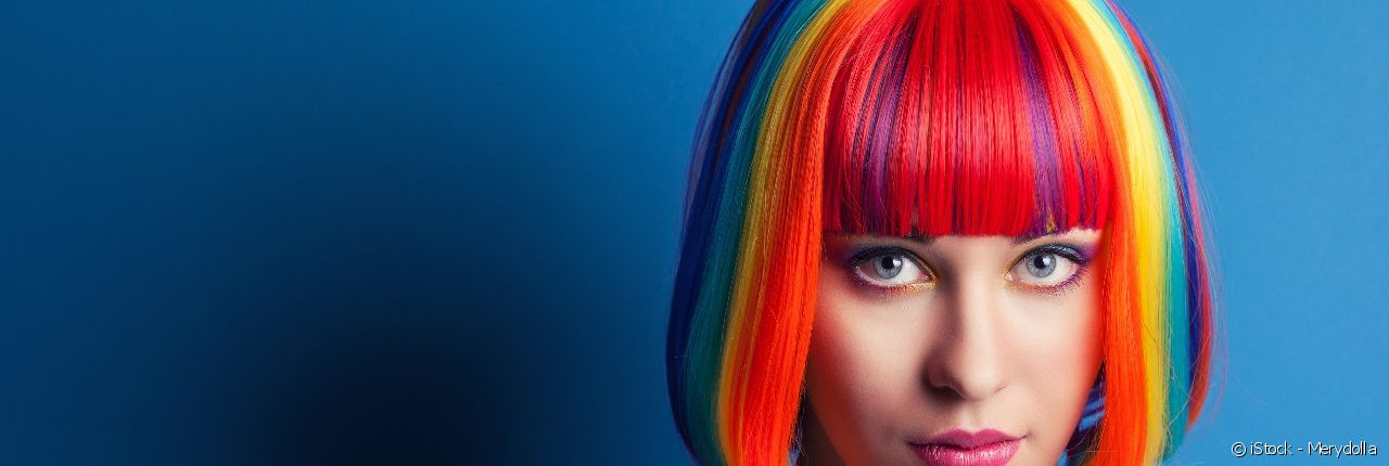 The roots are at the heart of the multi-coloured hair trend