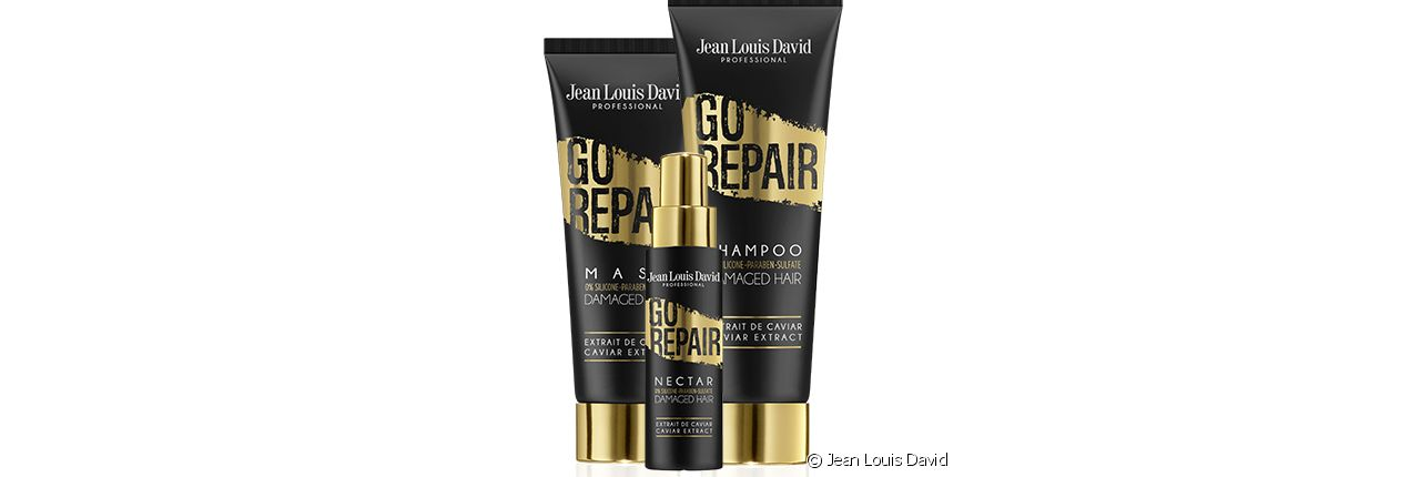 Revive your dry hair with treatments from the Go Repair range