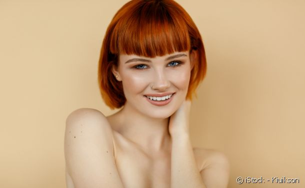 Red hair colouring: Gaelic red for fair skin tones