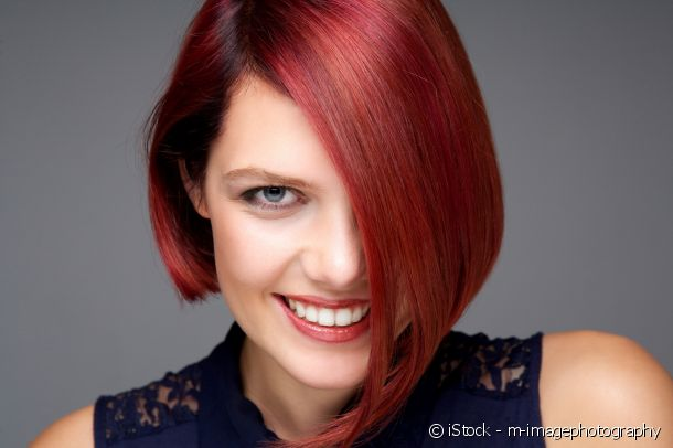 Red hair colouring: flaming red for fair skin