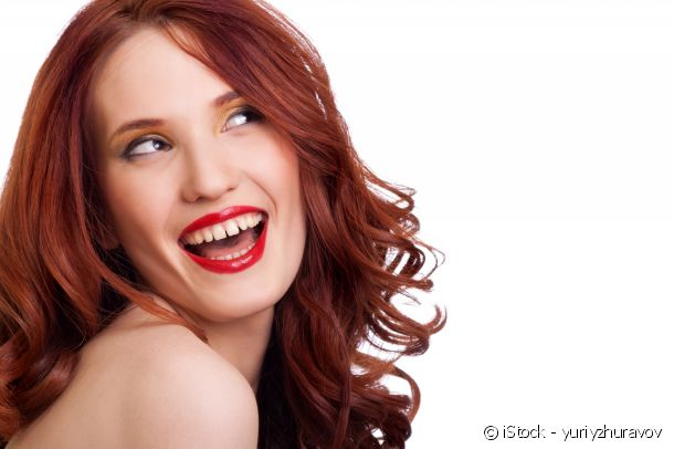 Red hair colouring: mahogany for pale to dark skin tones