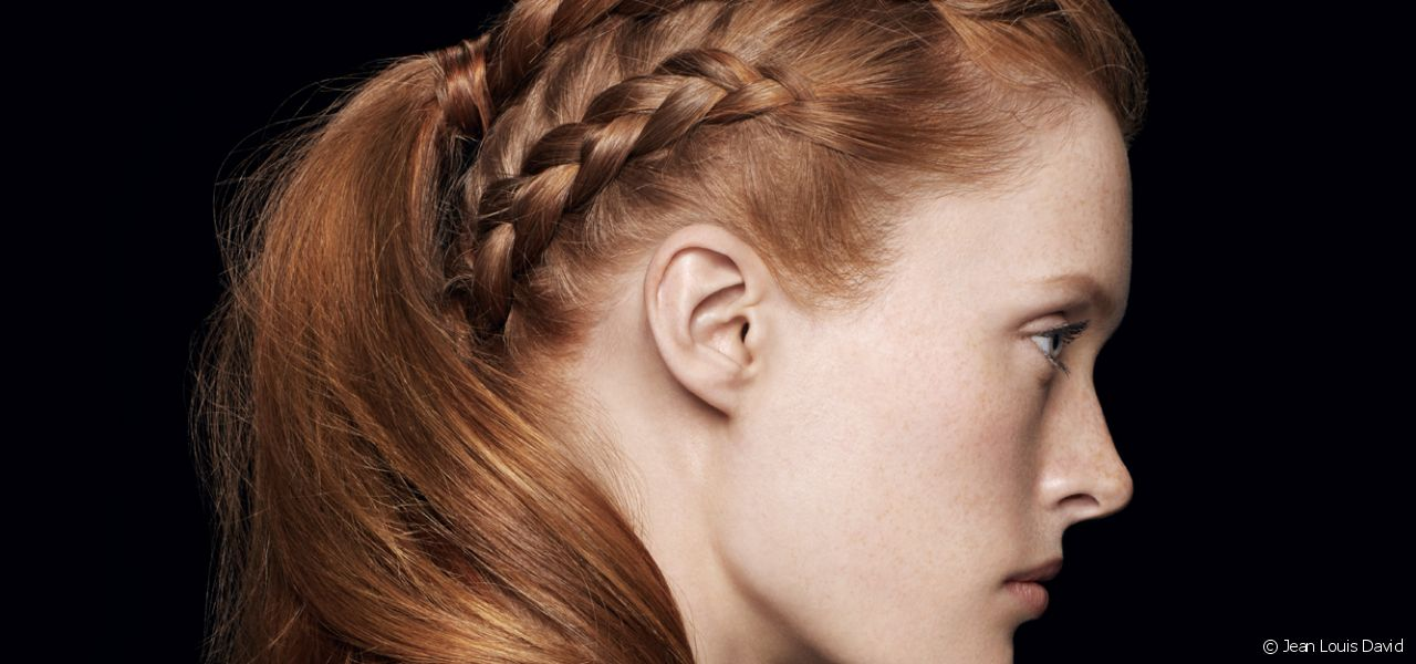 This season, the Style Bar has created a double-sided number with a plait and ponytail combo for an original up-do to transform your look