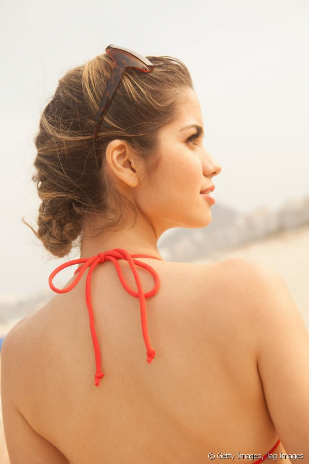 Thick Hair How To Style It In Hot Weather